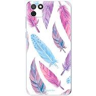 iSaprio Feather Pattern 10 a Honor 9S készülékhez - Mobiltelefon hátlap