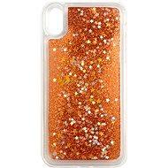 iWill Glitter Liquid Star Case Apple iPhone Xr készülékhez - Rose Gold - Telefon hátlap