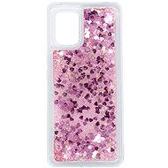 iWill Glitter Liquid Heart Case - Xiaomi Mi 10 Lite Pink