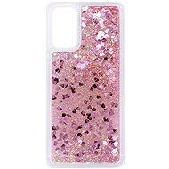 iWill Glitter Liquid Heart Case pro Xiaomi POCO M3 Pink