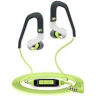 Sennheiser OCX 686i Sports, zöld - Mikrofonos fej-/fülhallgató