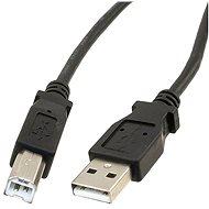 PremiumCord USB 2.0 5m, összekötő, fekete - Adatkábel