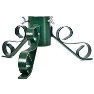 Karácsonyfa állvány fém - zöld - Faállvány