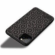 MoFi Anti-slip Back Case Irregular iPhone 11, fekete - Mobiltelefon hátlap