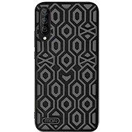 MoFi Anti-slip Back Case Irregular Samsung Galaxy A50, fekete - Mobiltelefon hátlap