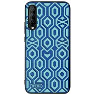 MoFi Anti-slip Back Case Irregular Samsung Galaxy A50, kék - Mobiltelefon hátlap