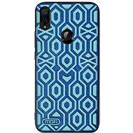 Mobiltelefon hátlap MoFi Anti-slip Back Case Irregular Xiaomi Redmi Note 7, kék - Kryt na mobil