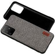 MoFi Fabric Back Cover Samsung Galaxy S20, szürke - Mobiltelefon hátlap