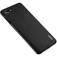MoFi Litchi PU Leather Case iPhone 7/8/SE 2020 - fekete - Mobiltelefon hátlap