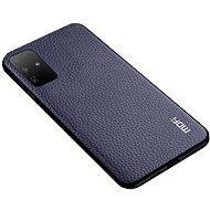 MoFi Litchi PU Leather Case Samsung Galaxy S20 Ultra 5G, kék - Mobiltelefon hátlap