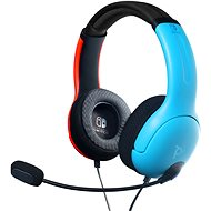 PDP LVL40 Wired Headset - Color Block - Nintendo Switch - Gamer fejhallgató