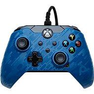 Kontroller PDP vezetékes vezérlő - kék álcázás - Xbox