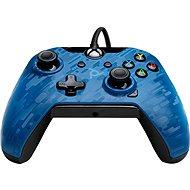 PDP Wired Controller - Xbox One - kék terepminta - Kontroller
