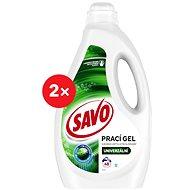 SAVO Színes és fehér ruhanemű 2 × 2,5 l (100 mosás) - Mosógél