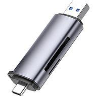 Kártyaolvasó Ugreen USB-C/USB-A To TF/SD 3.0 Card Reader