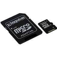 Kingston MicroSDHC 32GB Class 10 UHS-I + SD adapter - Memóriakártya