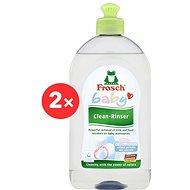 FROSCH Baby Hypoallergén mosószer cumisüvegekhez és cumikhoz 2 × 500 ml - Öko mosogatószer