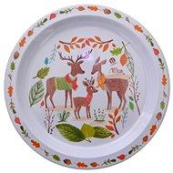 Petite &Mars Melamin tányér - szarvas - Tányér