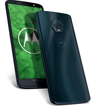Motorola Moto G6 Plus Dual SIM Kék - Mobiltelefon  e57e4e3023