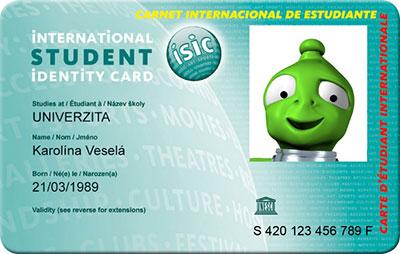 ISIC kártya