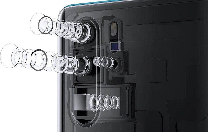 Huawei P30 Pro, fényképezőgép