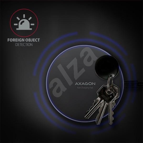 AXAGON WDC-P10T vezeték nélküli töltőpad - Vezeték nélküli töltő.
