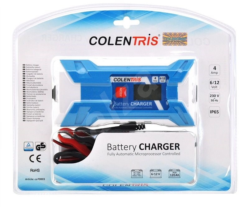 Colentris LCD 4A - Autó akkumulátor töltő.