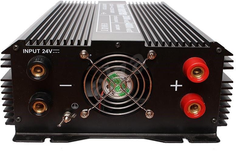 Space Feszültségátalakító 24 V-ról 220 V-ra  állandó terhelés 2000 W. - 'Feszültség-átalakító