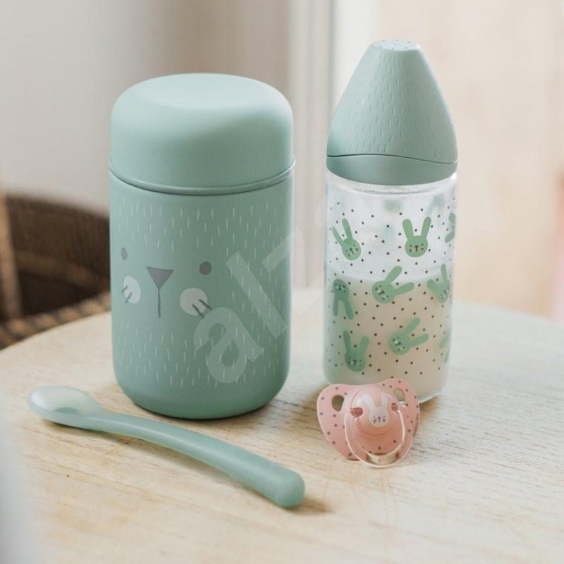 SUAVINEX Hygge élelmiszer termosz zöld - Gyerek termosz