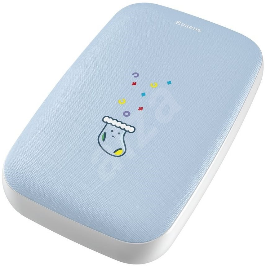 Baseus Mini Q Hand Warmer Power Bank 10000mAh  kék - Powerbank