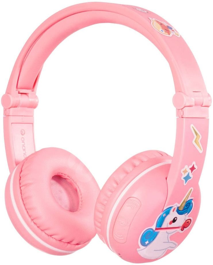 BuddyPhones Play  rózsaszín - Vezeték nélküli fül-/fejhallgató