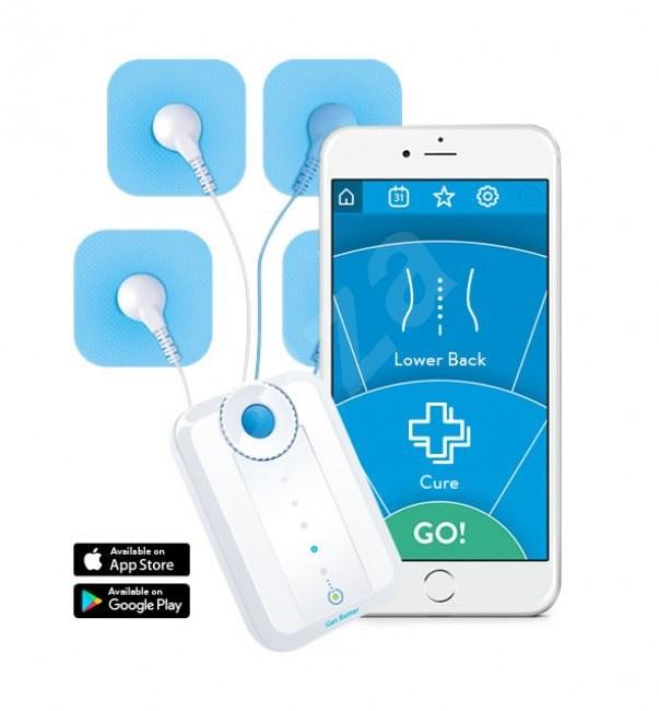 Bluetens Smart masszázs készülék tartozékokkal - Izom- és idegstimulátor