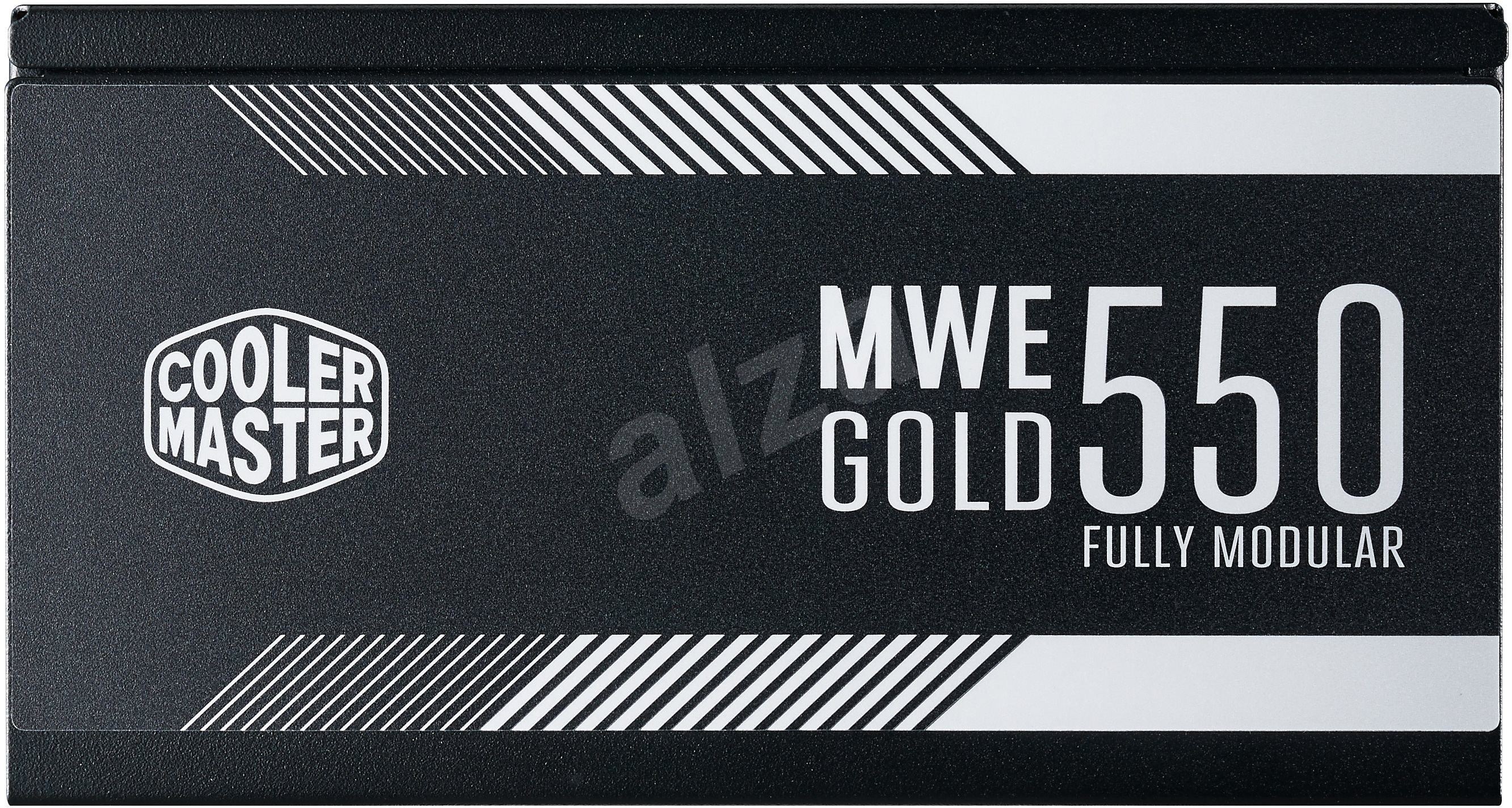 Cooler Master MWE GOLD 550 Full Modular - PC tápegység