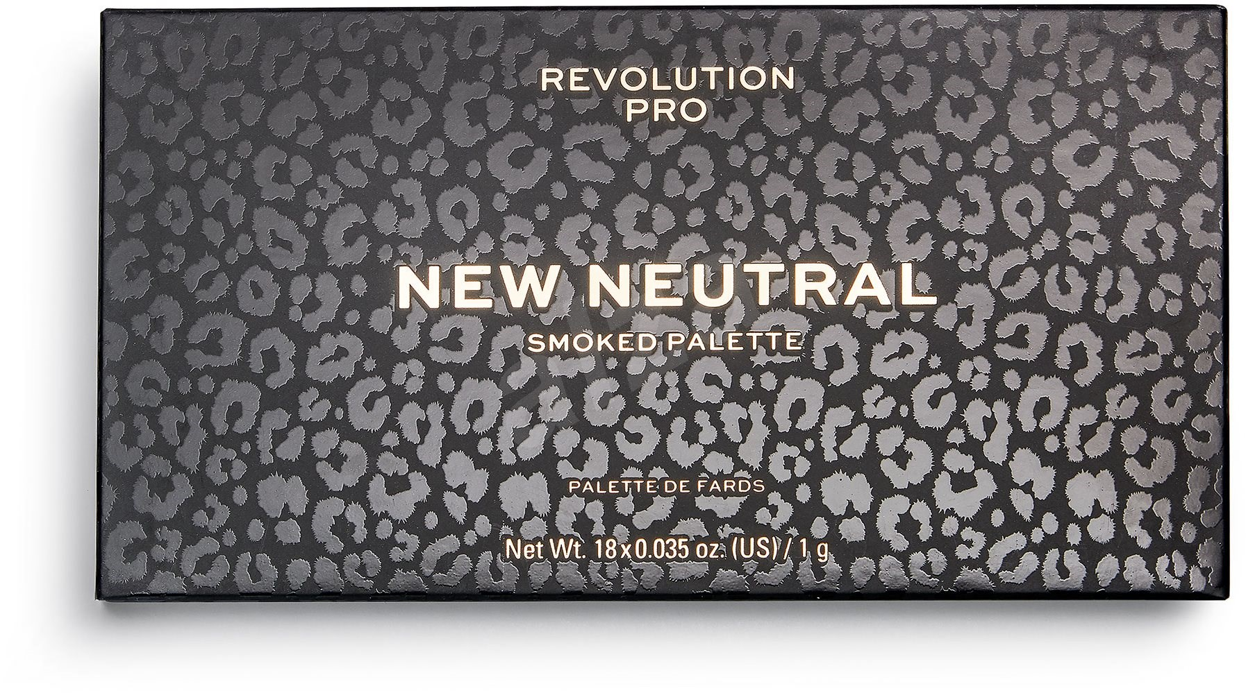 REVOLUTION PRO New Neutral Smoked 18 g - Szemfesték paletta