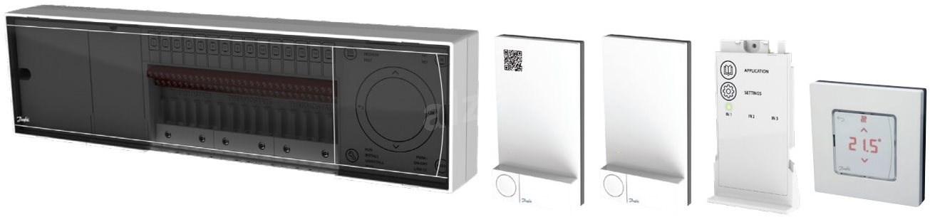 Danfoss Icon mester vezérlő 088U1072  24V  15 kimenettel - Termosztát