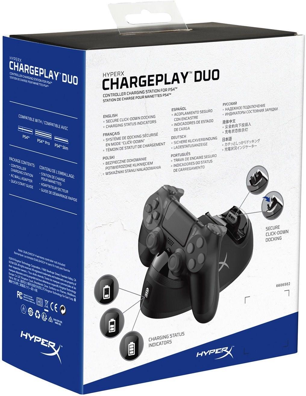 HyperX ChargePlay�?Duo - Töltőállomás