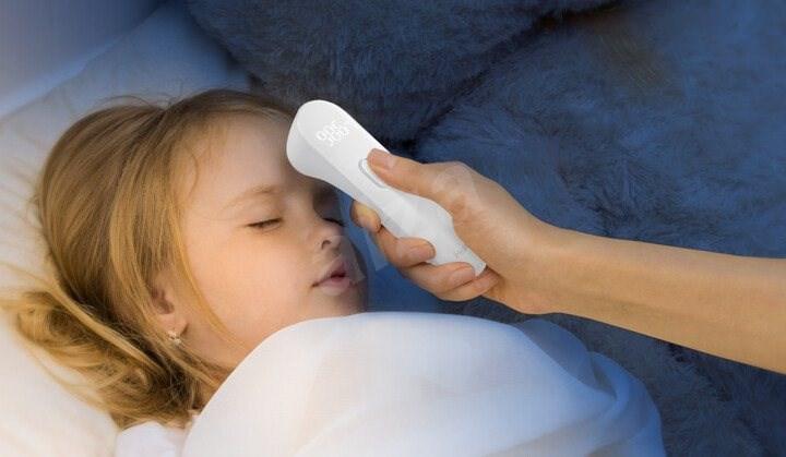 iHealth PT3 Érintésmentes lázmérő - Gyerek lázmérő.