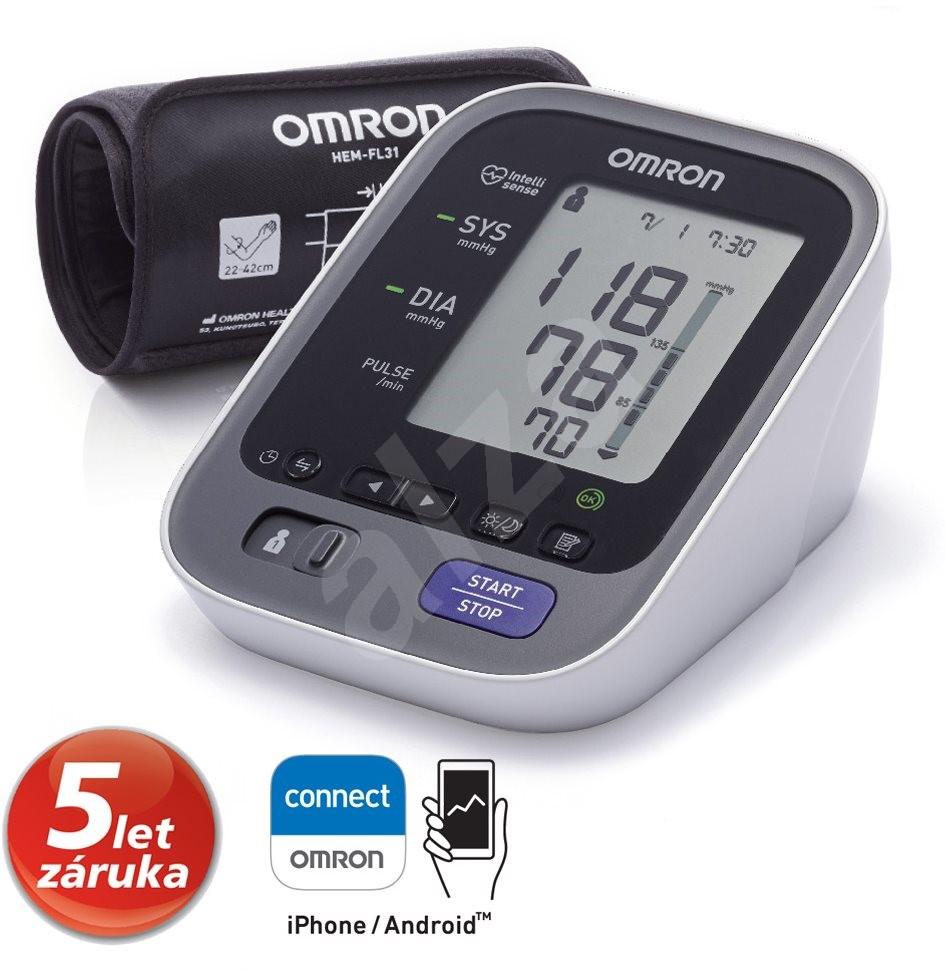 OMRON M7 Intelli IT Bluetooth felkaros vérnyomásmérő..
