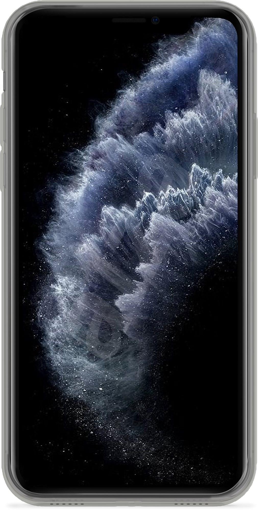 Epico TWIGGY GLOSS CASE iPhone 11 PRO - átlátszó fekete - Mobiltelefon hátlap