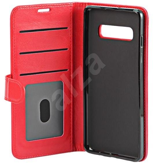 Epico Flip Case tok Samsung Galaxy S10 készülékhez  piros - Mobiltelefon tok