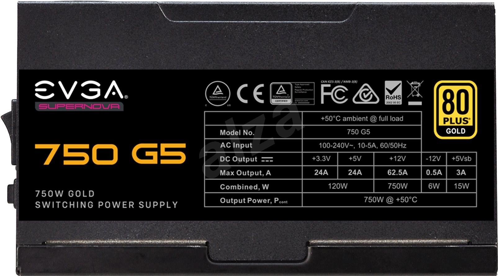 EVGA SuperNOVA 750 G5 - PC tápegység