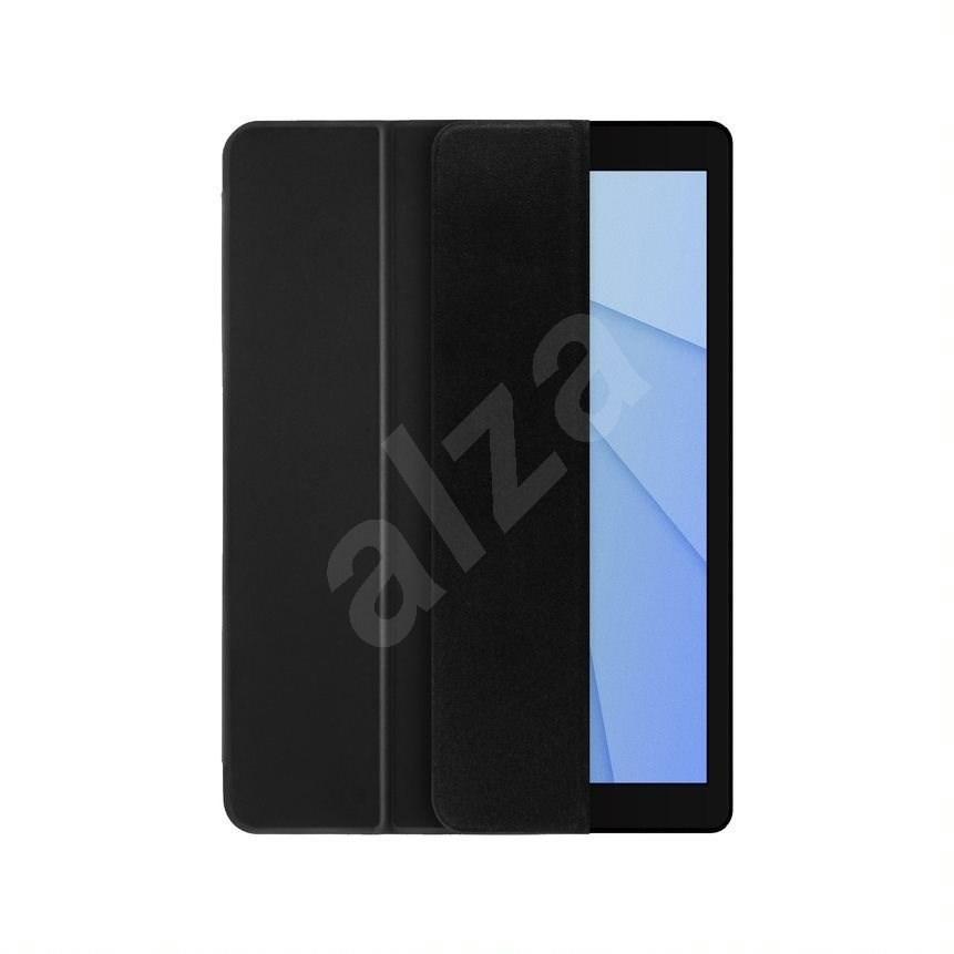 """FIXED Padcover Állványos tok Apple iPad 10 2"""" (2019) készülékhez  Sleep/Wake támogatás  sötétszürke - Tablet tok"""