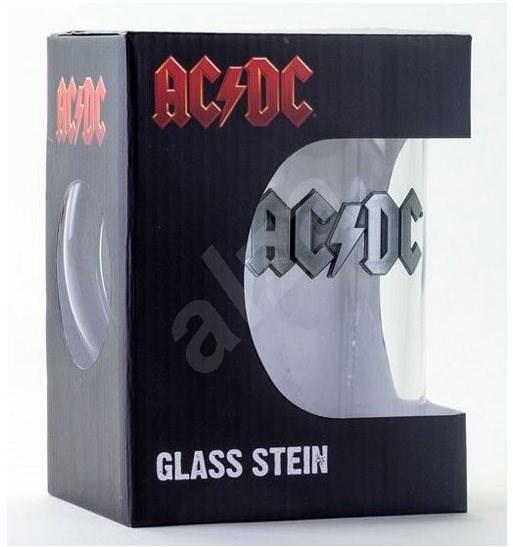 AC / DC - fém logó - üvegkancsó - Pohár hideg italokhoz