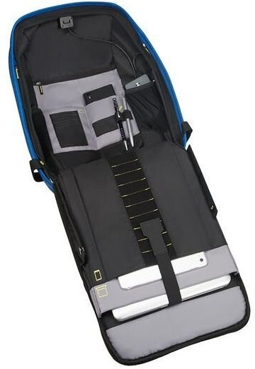 "Samsonite SECURIPAK 15.6"" True Blue - Laptop hátizsák"