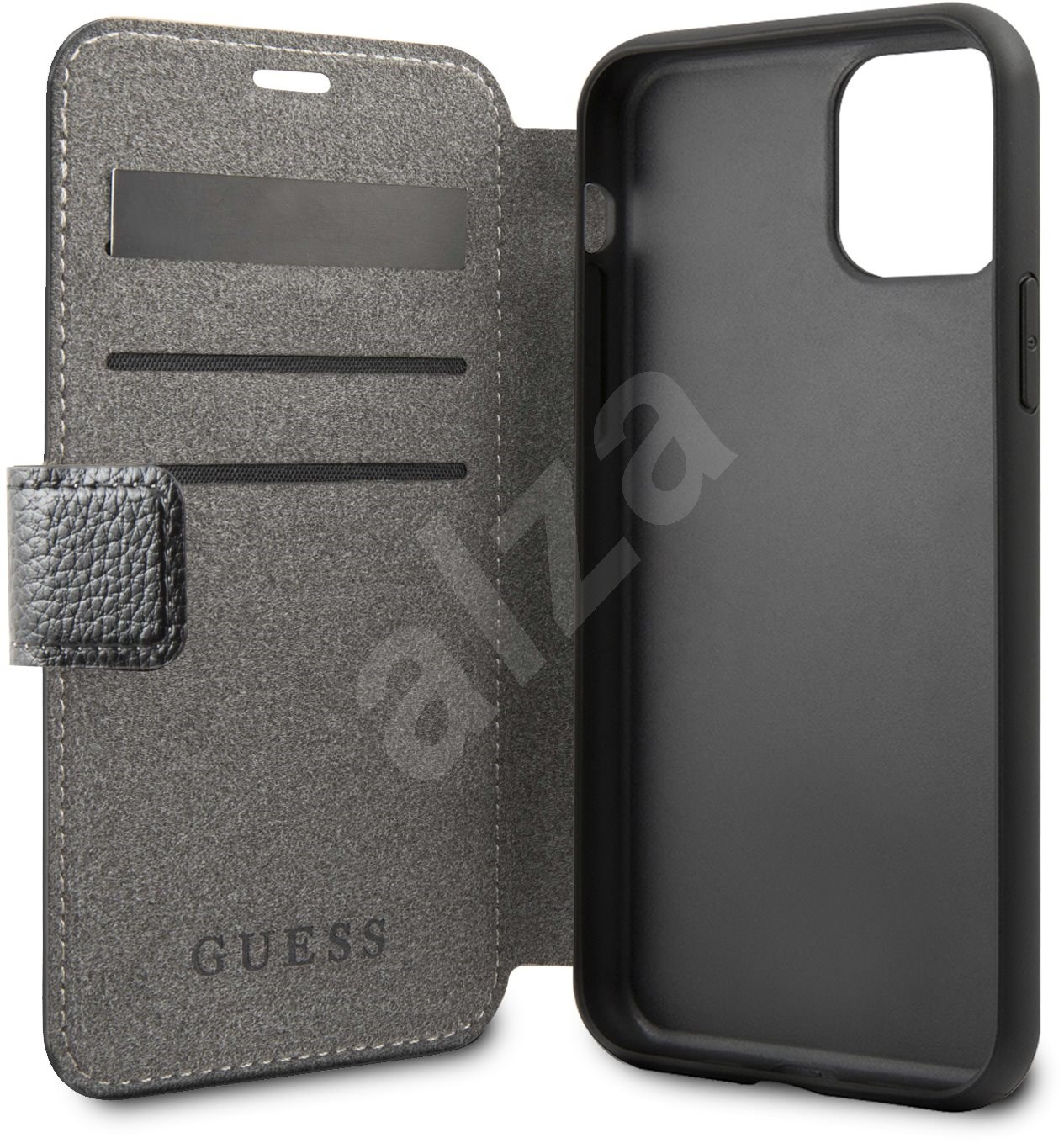 Guess Iridescent tok iPhone 11 készülékhez  fekete (EU Blister) - Mobiltelefon tok
