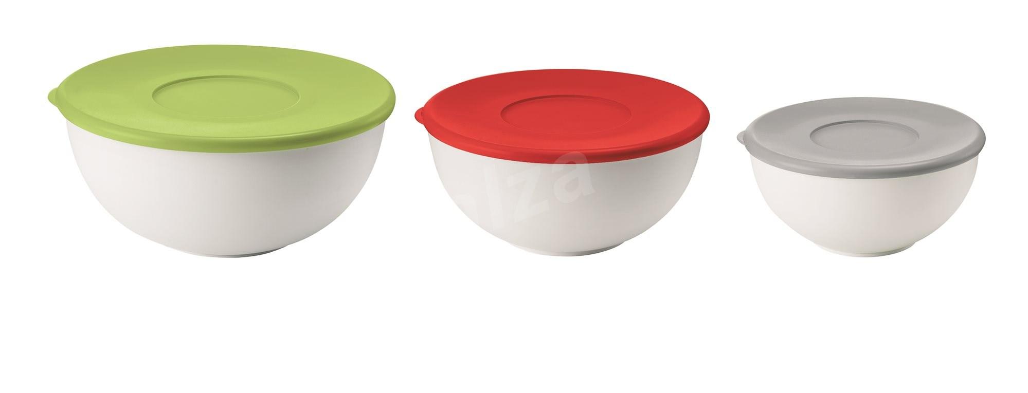 Guzzini fedeles műanyag tárolóedény készlet- 3 db KITCHEN ACTIVE DESIGN - Salátástál