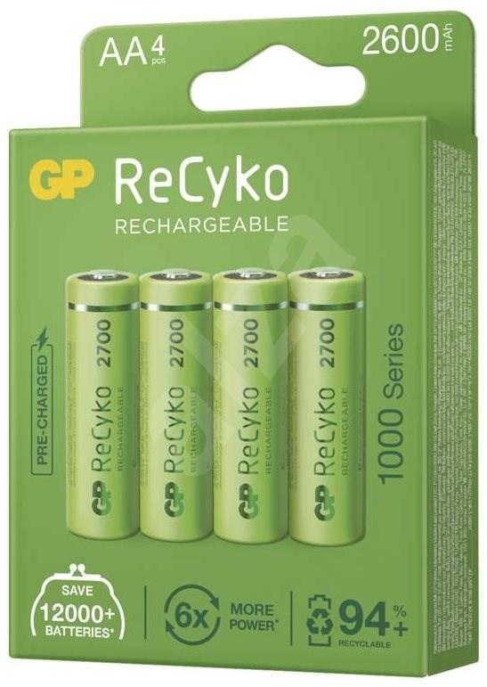 GP ReCyko 2700 AA (HR6)  4 db - Akkumulátor