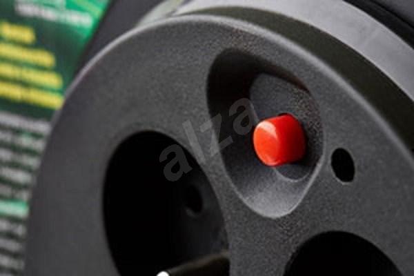 EMOS PVC Kábel dobon fix középrésszel - 4 aljzat  50 m  1 5 mm2 - Hosszabbító kábel