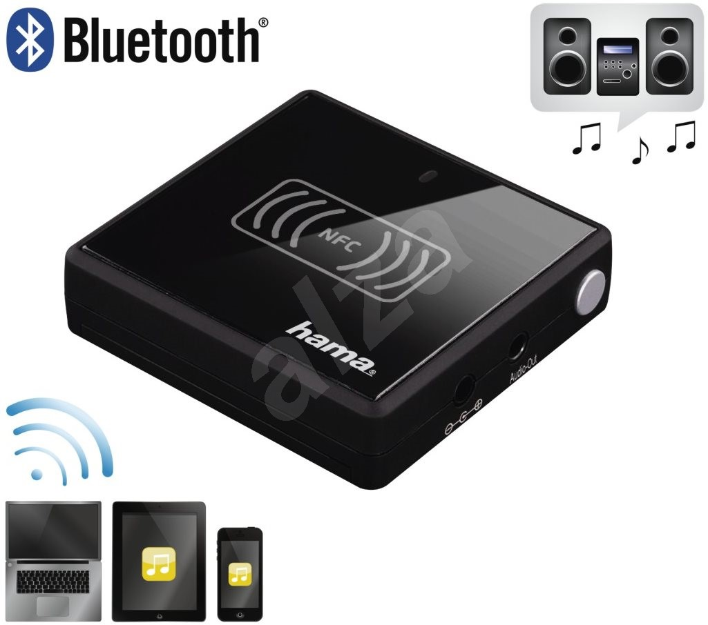 hama bluetooth audio receiver nfc vel bluetooth adapter. Black Bedroom Furniture Sets. Home Design Ideas