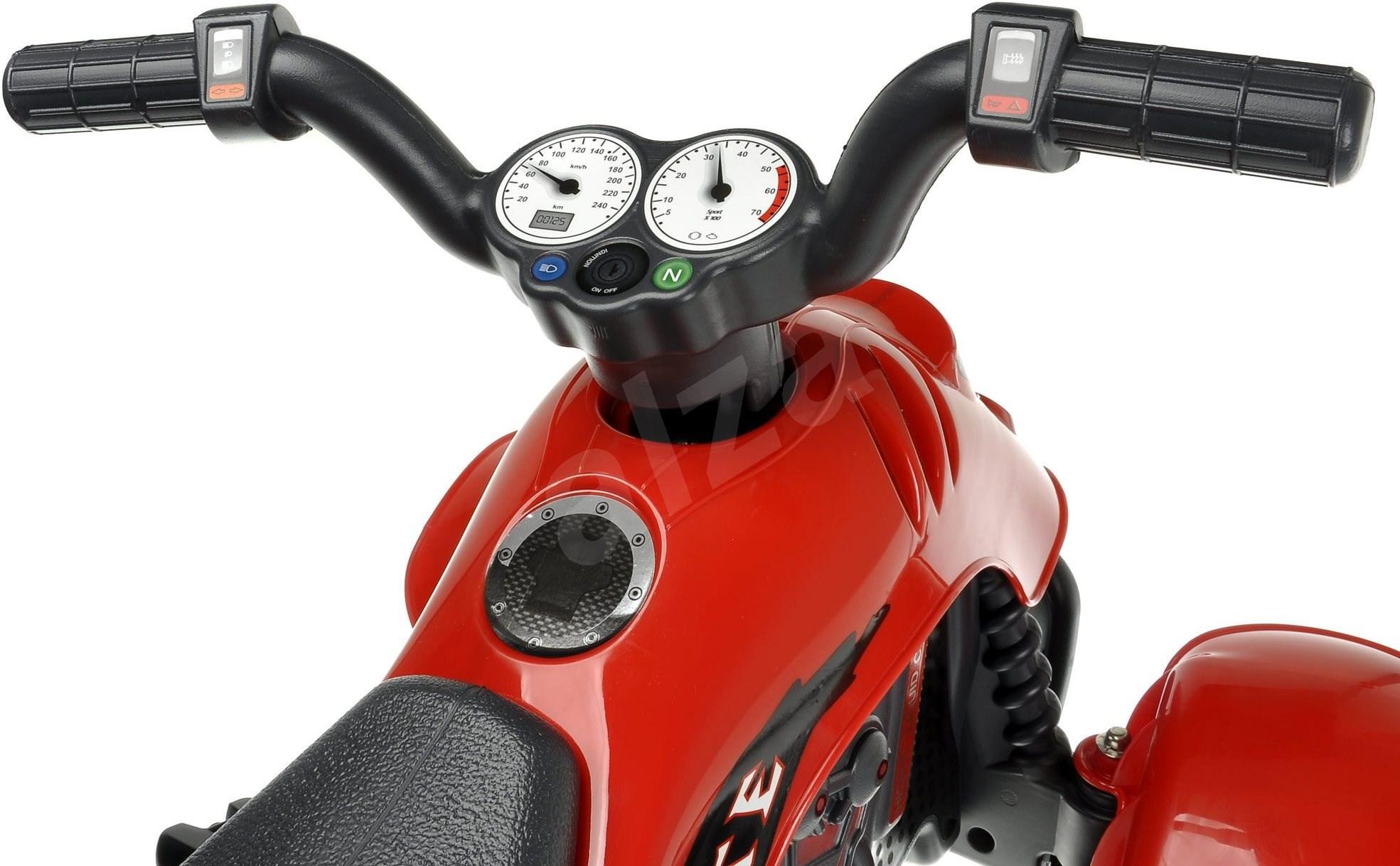 Pedálos quad  piros - Pedálos négykerekű.